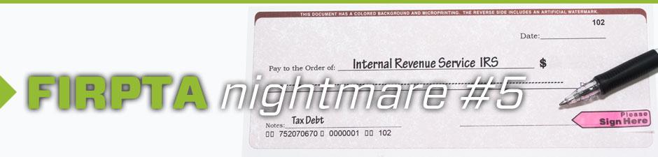 Fidelity National Financial Fraud Insights Firpta Nightmare 5